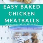 chicken meatballs pin 1