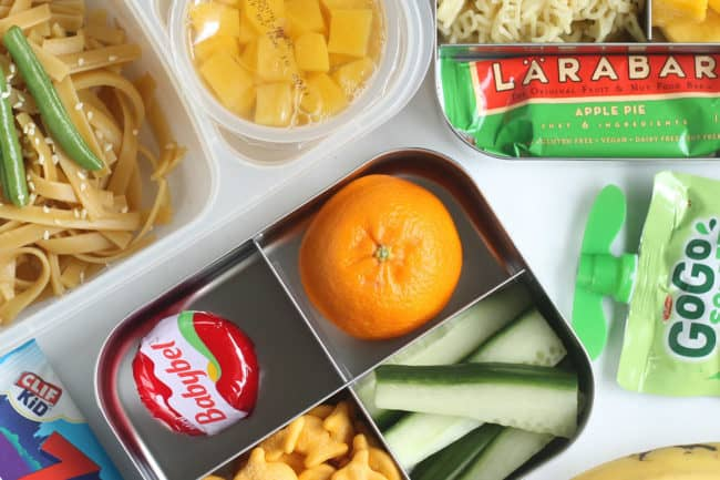 cold lunch ideas on countertop