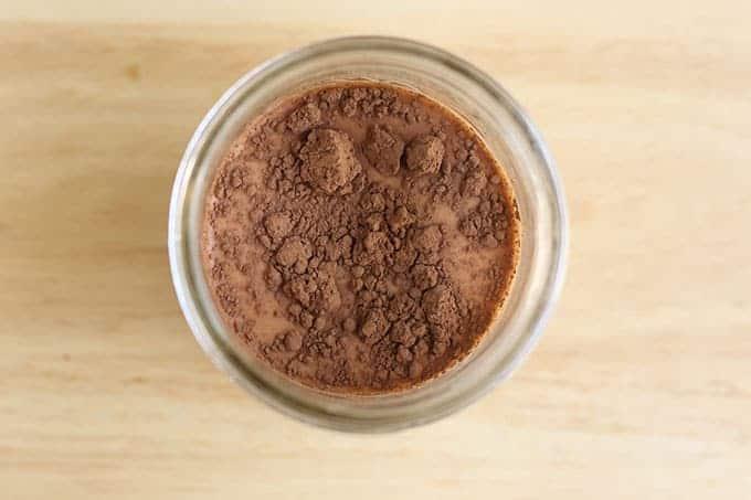 ingredients-for-chocolate-milk-in-jar