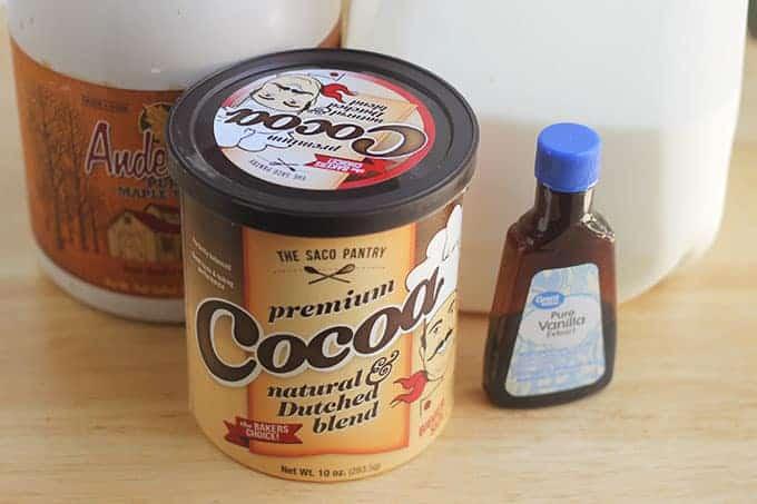ingredients-in-homemade-chocolate-milk