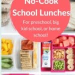 no cook school lunch pin 1