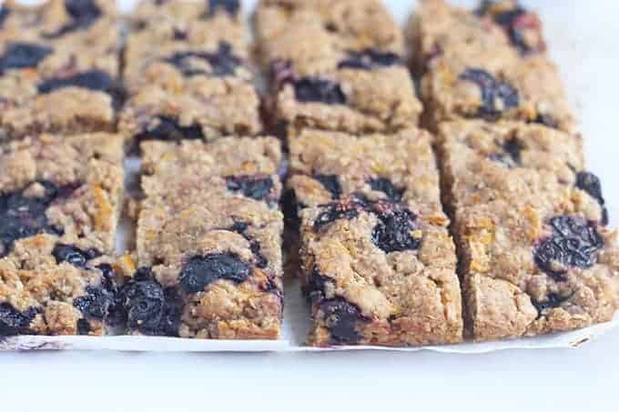 oatmeal-bars-sliced-on-parchment