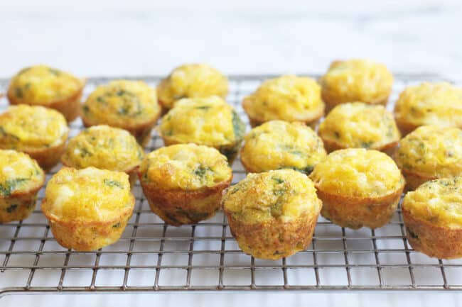 spinach-egg-muffins-on-wire-rack