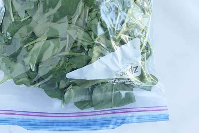 spinach-in-freezer-bag