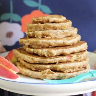 stack-of-apple-pancakes