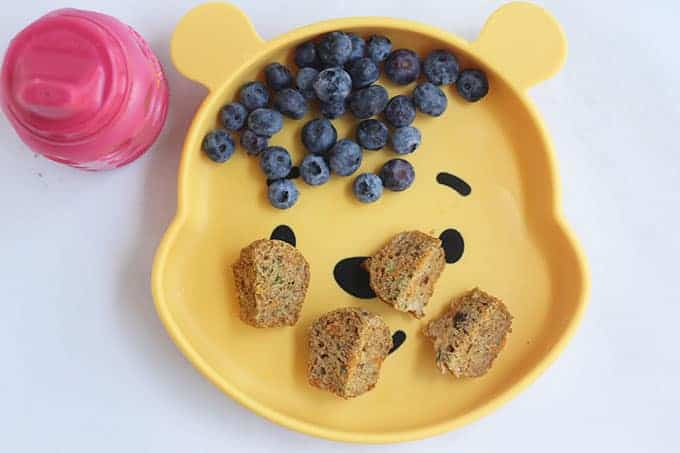 zucchini-carrot-muffins-on-pooh-plate