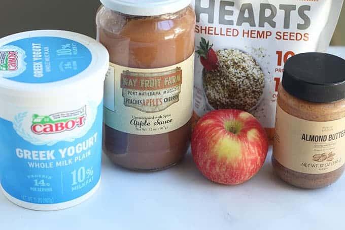 ingredients-in-apple-smoothie