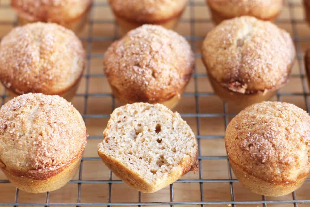 mini-cinnamon-muffins-on-wire-rack