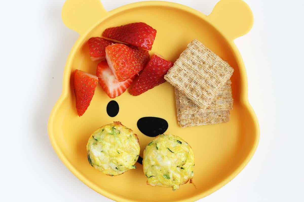 zucchini-egg-cups-on-pooh-plate