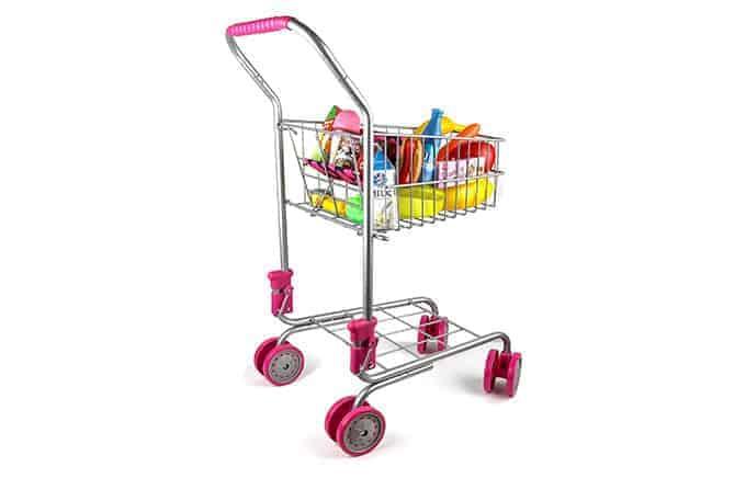 precious toys shopping cart