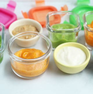 baby-food-combinations-on-countertop