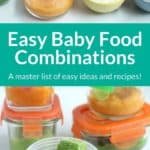baby food combinations pin 1