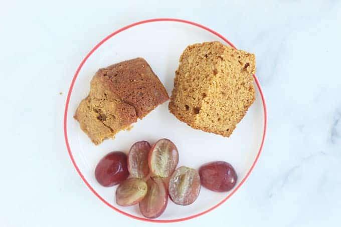 cut-up-sweet-potato-muffins-on-plate