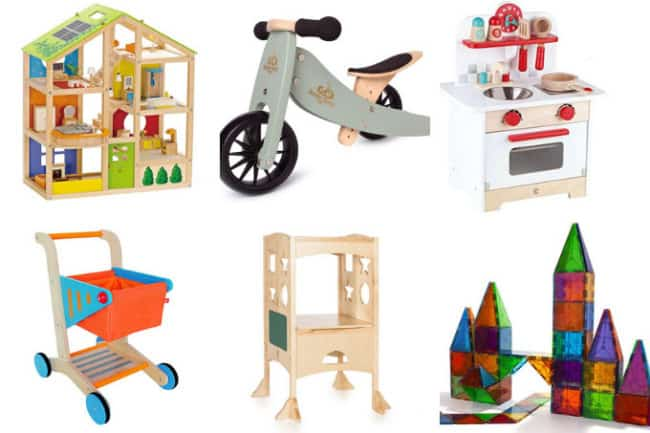 best toddler toys in grid of 6