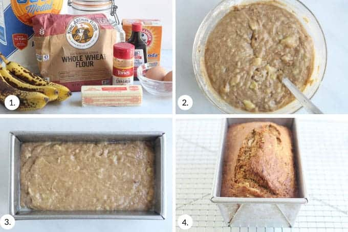 how-to-make-lower-sugar-banana-bread-step-by-step