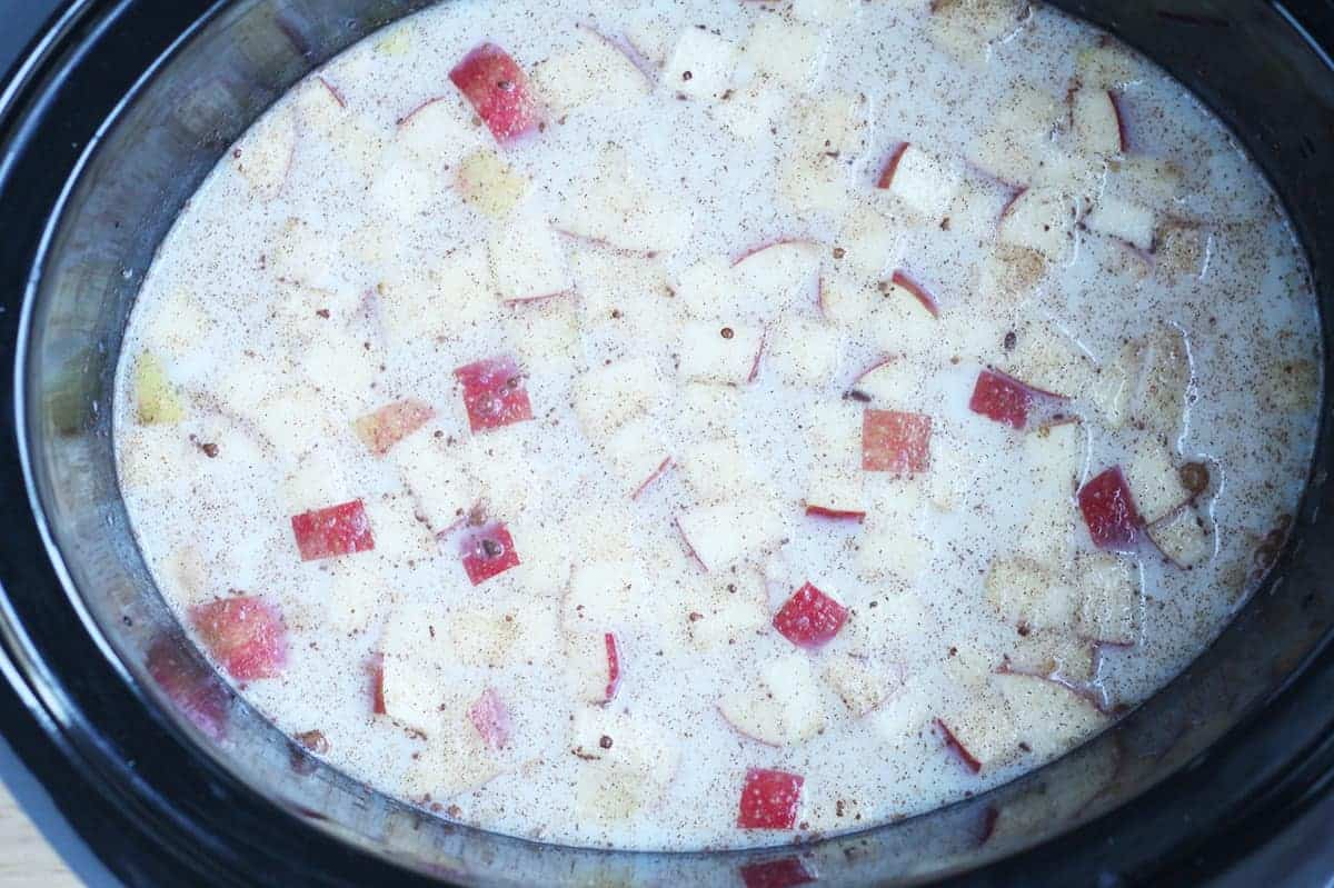 ingredients-for-oatmeal-in-crock-pot