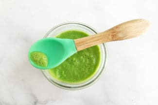 Easiest Pea Puree