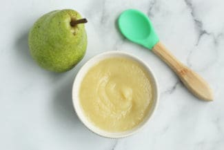 Easy Pear Puree