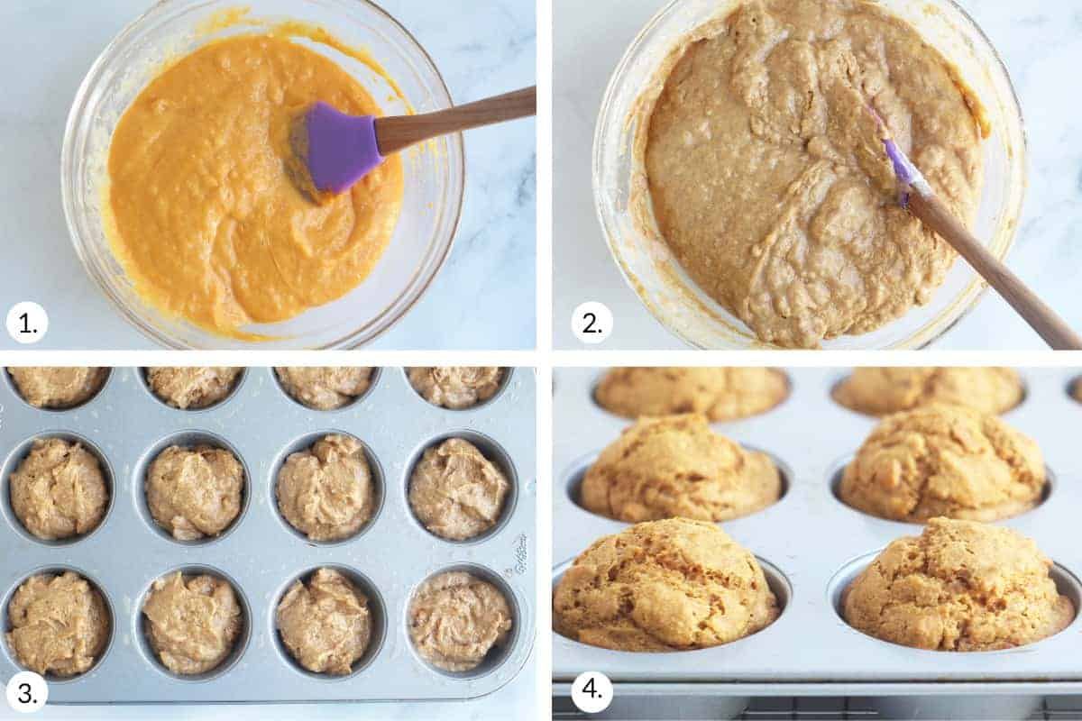 how-to-make-sweet-potato-muffins-step-by-step