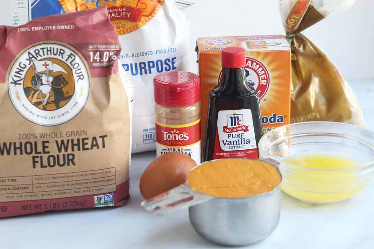 ingredients-in-sweet-potato-muffins