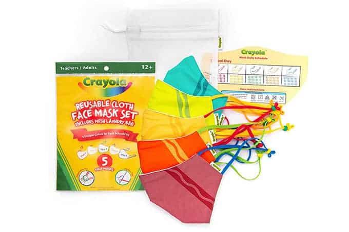 crayola mask pack
