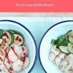 shrimp and noodles pin
