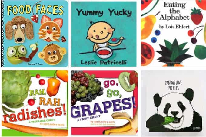 board books about food