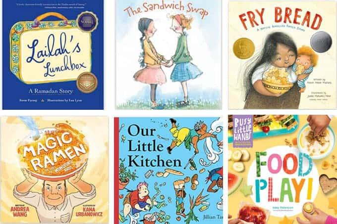 diverse kids books in grid