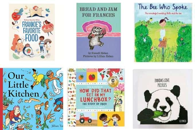 toddler books in grid of 6