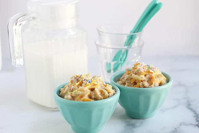 carrot-cake-oatmeal-in-blue-bowls