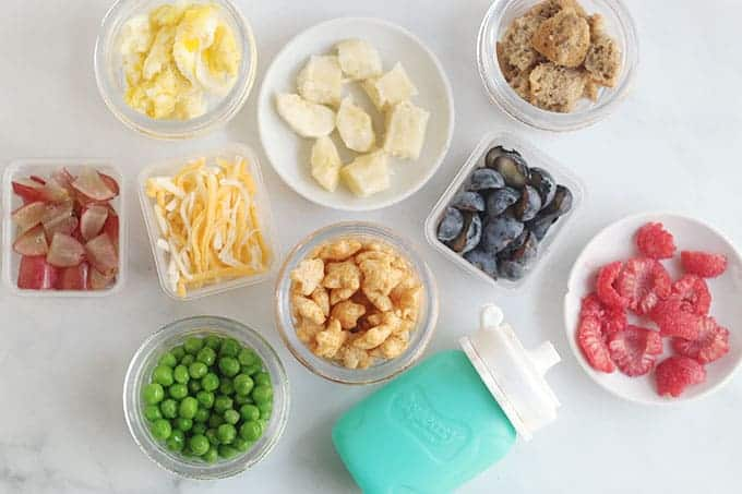 baby-snacks-on-countertop
