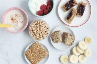 12 Easy Bedtime Snacks for Kids