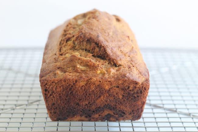 lower-sugar-banana-bread-on-rack