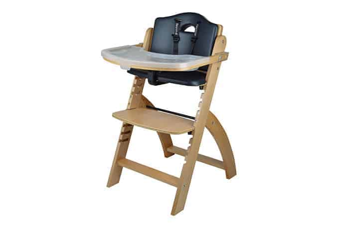 Abiie adjustable highchair in natural