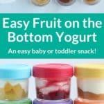fruit on the bottom yogurt pin