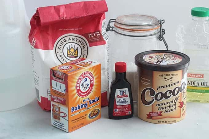 ingredients in football cake