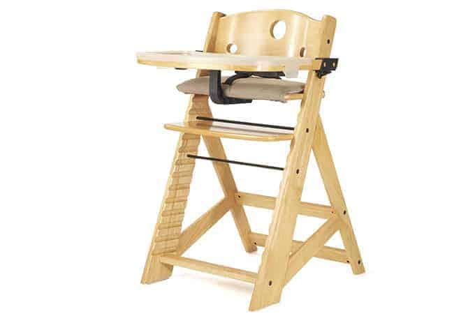 Keekaroo Height Right highchair in natural
