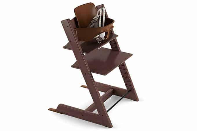 Stokke Tripp Trapp highchair in walnut