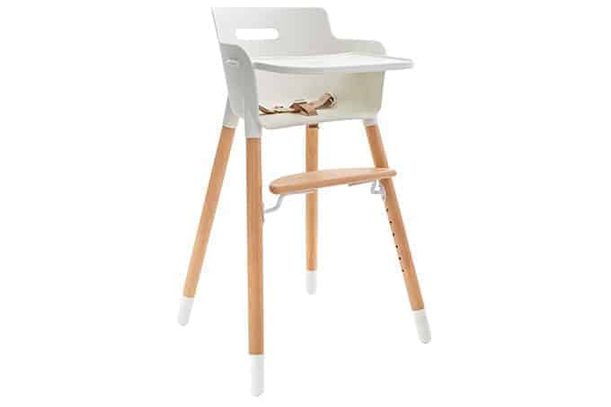 Weesprout adjustable highchair for babies and toddlers in white