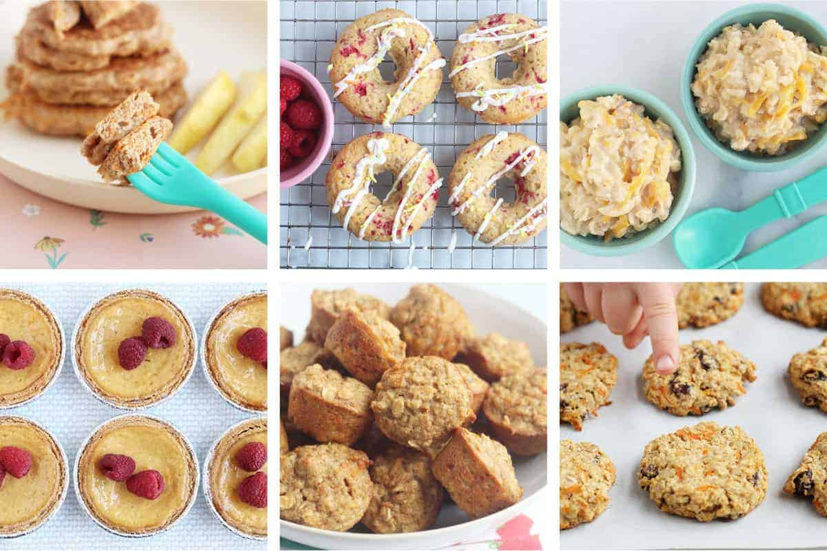 easter recipes in grid of 6