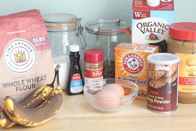 ingredients-in-chocolate-chip-banana-muffins