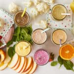 toddler-smoothies-on-counter-with-produce