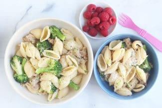 4-Ingredient Sausage Pasta with Broccoli