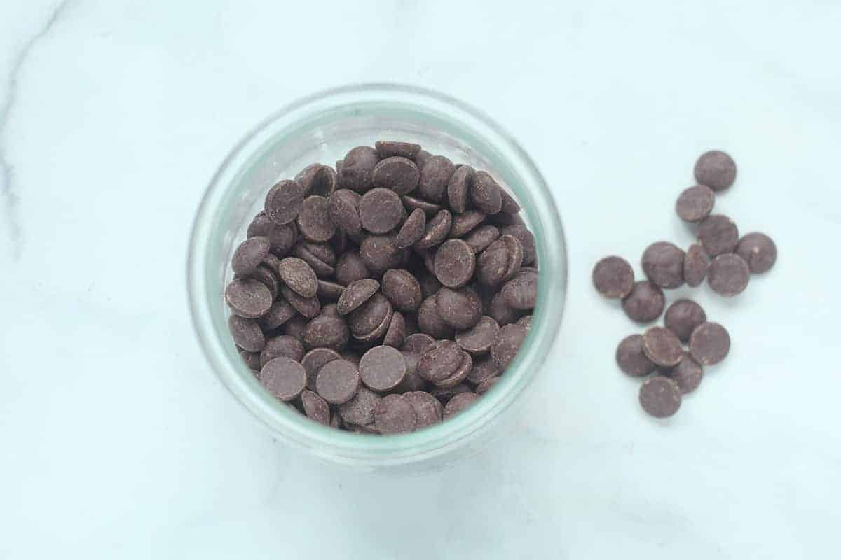 chocolate-chips-in-jar