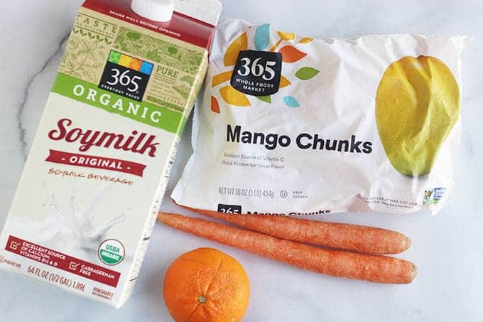 ingredients-in-carrot-smoothie