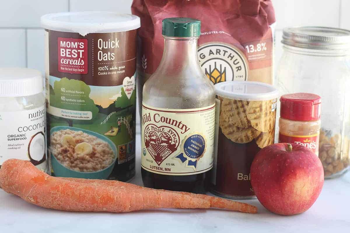 ingredients-in-healthy-oatmeal-cookies