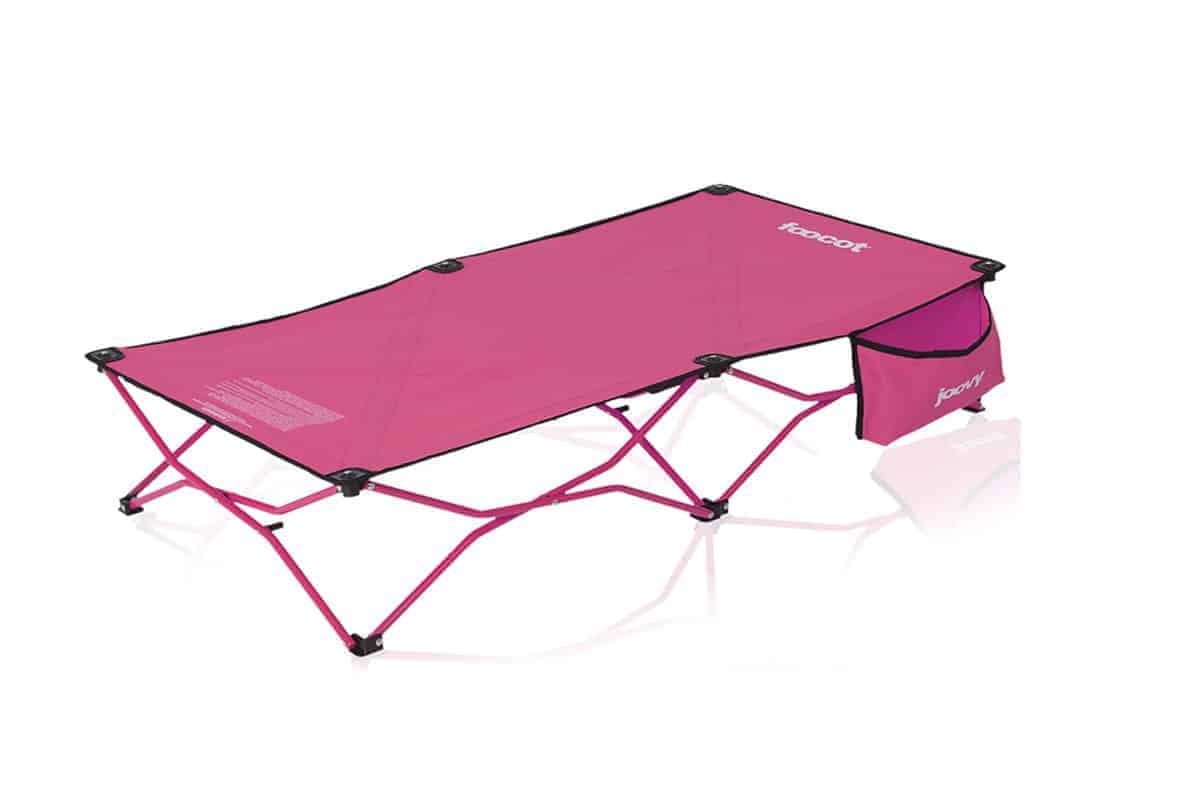 joovy footcot toddler bed in pink