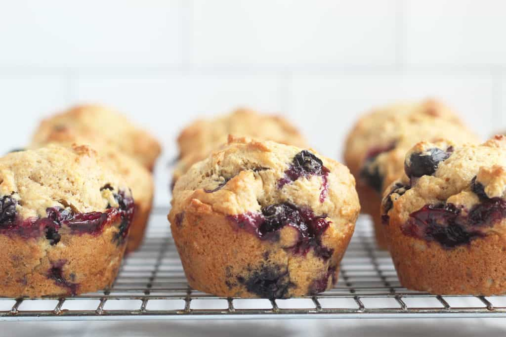 lemon-blueberry-muffins-on-wire-rack