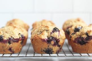 Favorite Lemon Blueberry Muffins