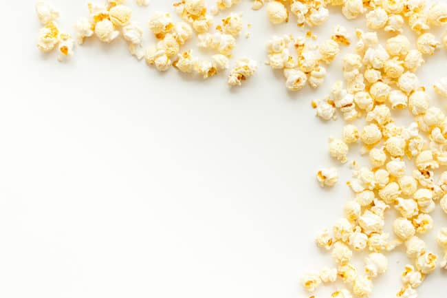 popcorn-on-white-countertop